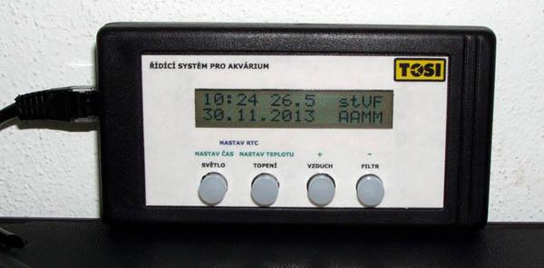 индикатор аквариумного контроллера