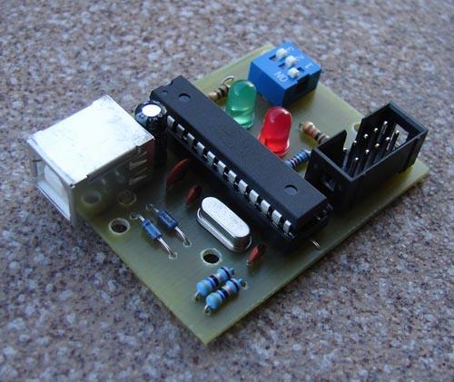 USBasp программатор микроконтроллеров AVR