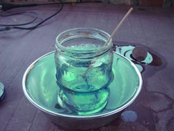 вытравливание платы в хлорном железе