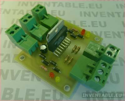 драйвера для двигателей постоянного тока на L298  фото