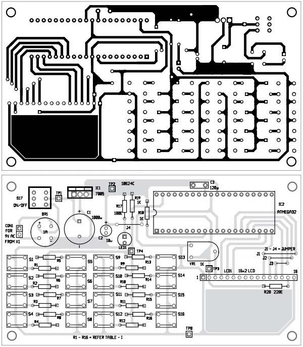 sopryazhenie-odnoprovodnoj-matricy-klaviatury-4x4-1