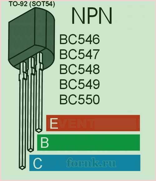 Транзистор BC548