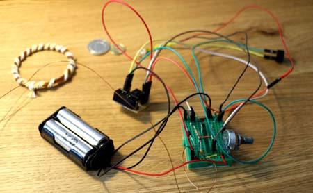Импульсный металлоискатель (PI) на микроконтроллере Attiny13