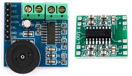 Модуль усилителя мощности звука PAM8403