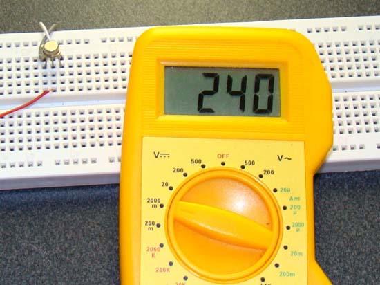 Тестирование аналоговых датчиков температуры 3
