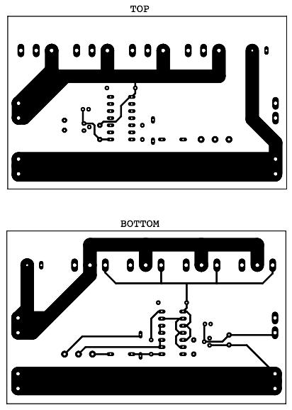 Драйвер для двигателя печатная плата