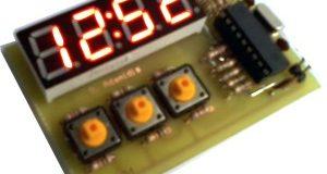 Простые цифровые часы на PIC16F84A