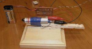 Передатчик и приемник голоса на базе лазерного фонарика